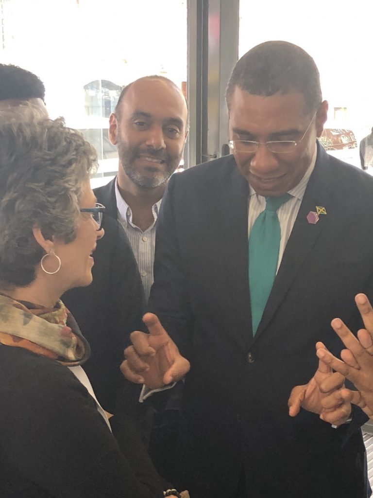 Commonwealth Business Forum 2018 featuring the Prime Minister of Jamaica
