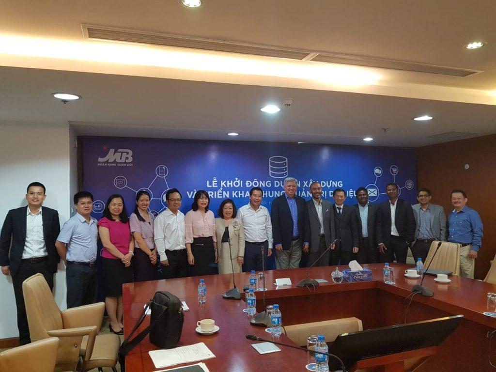 Military Bank Vietnam & Sunoida Project Kick-off Meeting