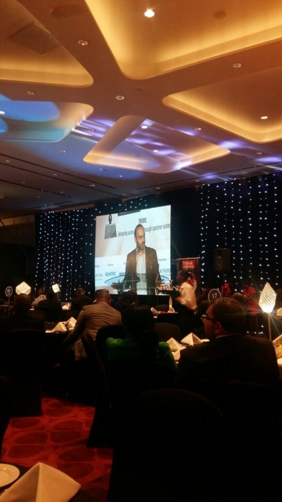 Speaker - Think Business Awards Nairobi Kenya 2016