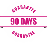 90 day guarantee icon